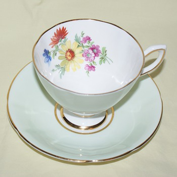 Cup and Saucer:  Kent - China and Dinnerware