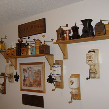 My Coffee Grinder Collections