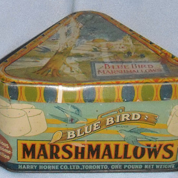 Old tin - Advertising