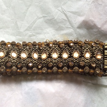 Stunning antique looking bracelet