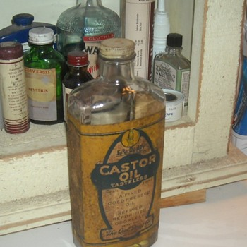 Owl Drug Company Castor Oil Bottle - Bottles