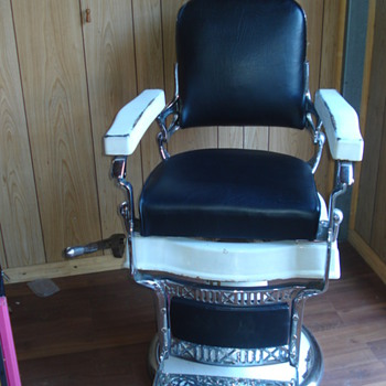 Plutus Barber Chair
