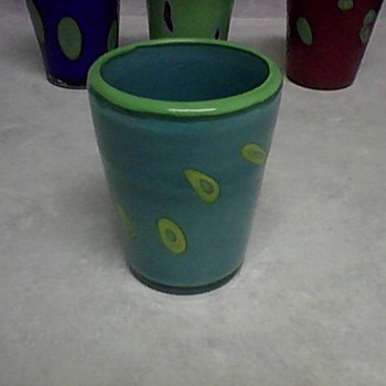 MURANO GLASS TUMBLER SET