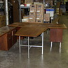 rockford national furniture company modren desk