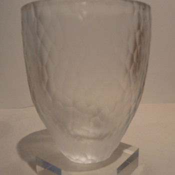 ORREFORS &#039;BATTUTO&#039; VASE - JJ4744-22