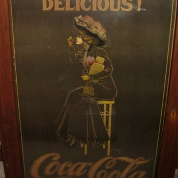 1909 Hamilton King Coca-Cola Advertisement