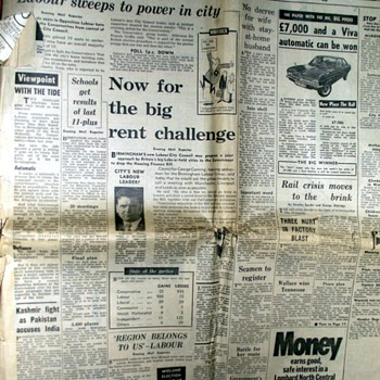 1972-birmingham-evening mail newspaper-5th may. - Advertising