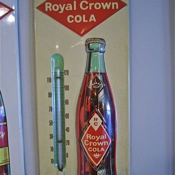 Royal Crown 1959 to 1960 Thermeometer - Advertising