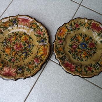 Italy Art Pottery Baffoni Gubbio