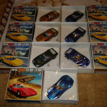 60&#039;s gar vic sealed slot cars - Model Cars