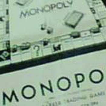 50's Monopoly board game - Games
