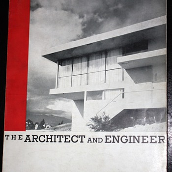 The Architect and Engineer - An Issue on Modern Architecture - December 1935 - Mid Century Modern