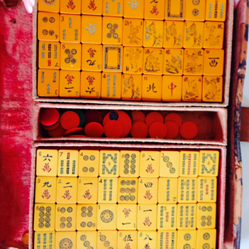 Old Mah Jongg Set - Games
