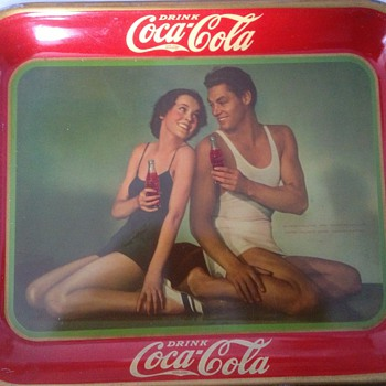 Rare Coca Cola Trays
