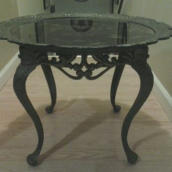W.H. Howell Co., Cast Iron Table, 1931