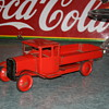 tri-ang truck tin toy