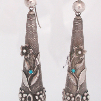 Georgian Torpedo Earrings