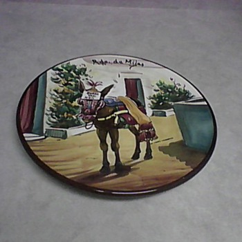 BURRO TAXI WALL CHARGER - Art Pottery