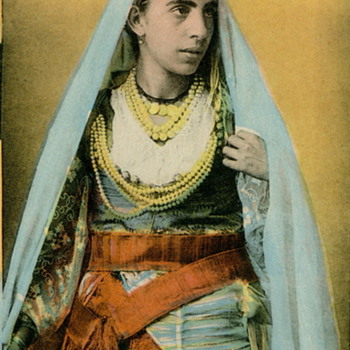 National Costume Postcards