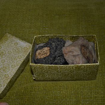 Small collection of rocks from 1900
