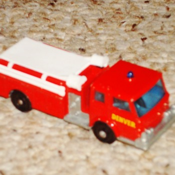 Lesney Matchbox Fire Truck - Model Cars