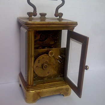 This is earliest carriage clock - Clocks