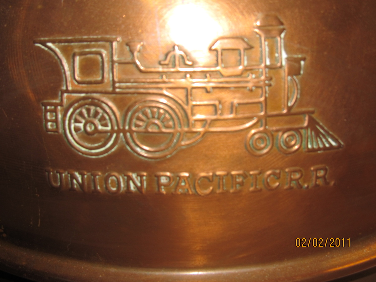 Union Pacific R R Spittoon Collectors Weekly