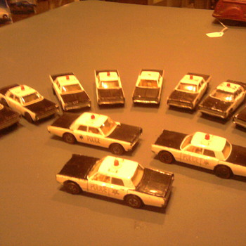 """My wife also asked me when I will have enough Hot Wheels Plymouth Police Cruisers.  ""NEVER... I WANT THEM ALL"" - Model Cars"