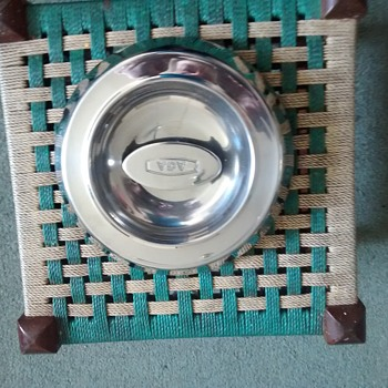 An AGA saucepan lid or a lid for an AGA hob ring new stainless steel but well designed