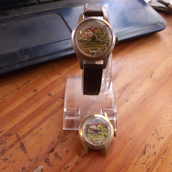 "@roddyq.... Teeter Totter ""Animated"" Wristwatch - Wristwatches"