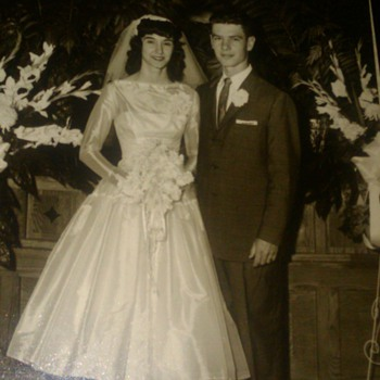 Mom and Dad's wedding photo - Photographs