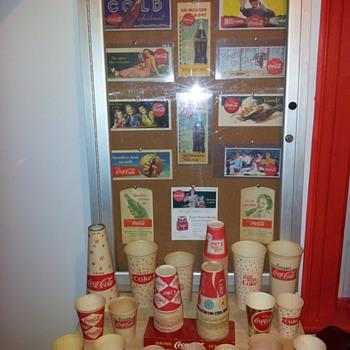 Coca-Cola Blotters