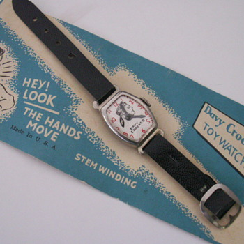 Davy Crockett Toy Watch