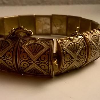 Toledoware Bracelet Flea Market Find $5.00 - Costume Jewelry