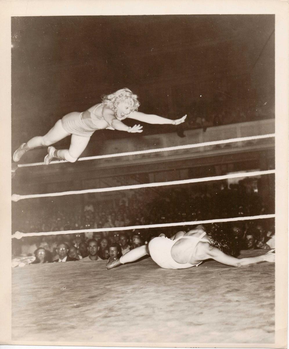 Vintage Girl Wrestler Photos Pre 1940