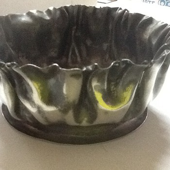 Unusual Royal Sterling Plate Co. bowl