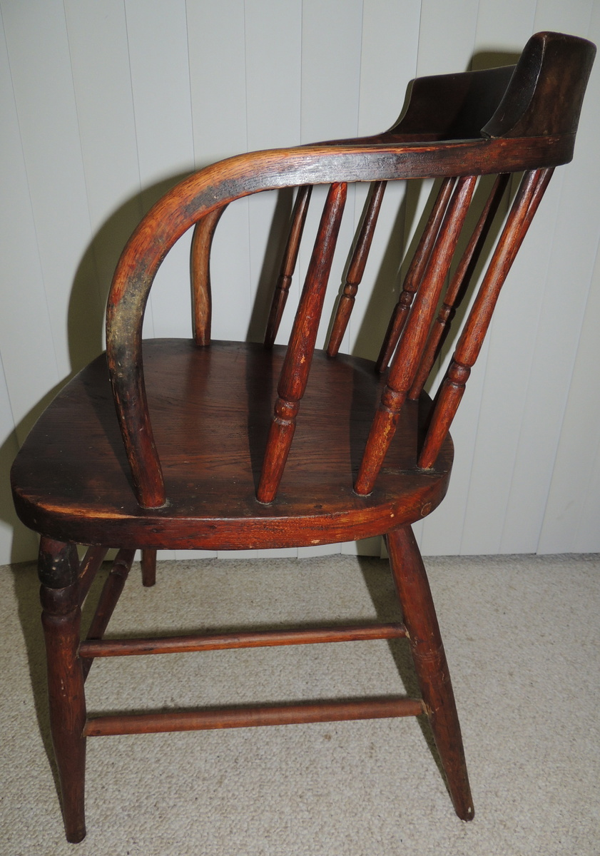 Antique bucket chair - Chairs1687 Of 2317