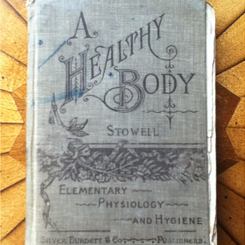 """A Healthy Body"" Schoolbook - Books"