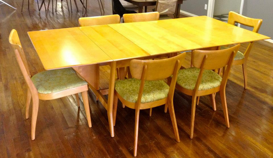 heywood wakefield dining room set value - decor