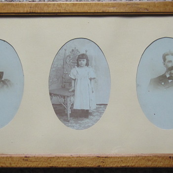 Civil War Veteran Valentine La Point, and his family in the 1890s.