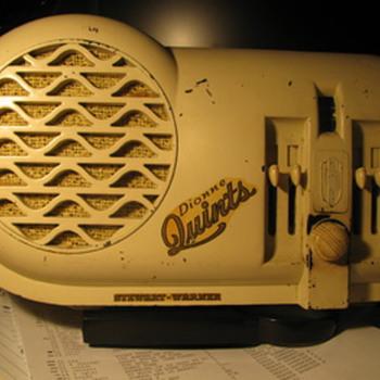Dionne Quints Stewart Radio