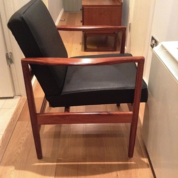 Danish(?) rosewood armchair - Furniture