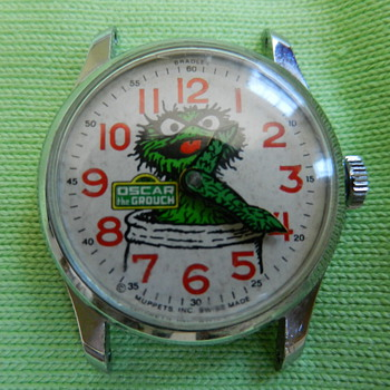 Oscar the Grouch Watch - Wristwatches