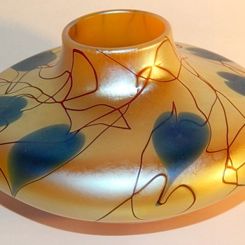 Is this Durand? I know it is not Tiffany but is marked LCT - Art Glass