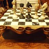 Chess set from?  I do not have a clue but would guess China or Asia