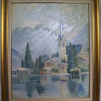 Painting signed M. Z. 1951?