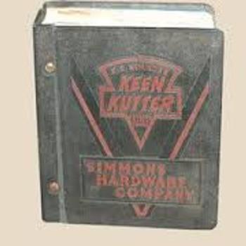 E.C. Simmons Keen Kutter 1939 Catalog - Books