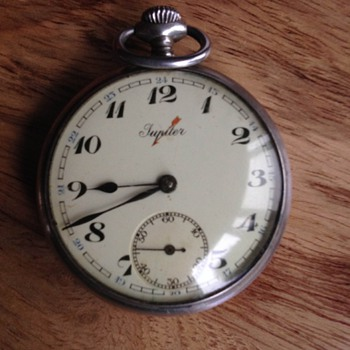 Jupiter Pocket Watch - Pocket Watches