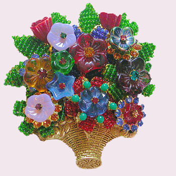 One of My Favorite Stanley Hagler Brooches - Costume Jewelry
