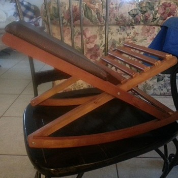 little folding rocker - Furniture